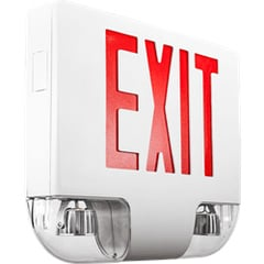 Aluminum Exit Sign with Lights Series: EEAC