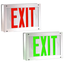 Abuse, Corrosion, Vandal-Proof LED Exit Sign Series: EEVS