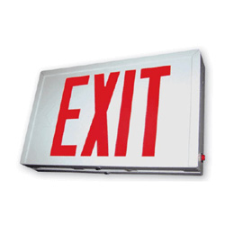 Steel LED Exit Sign Series : EESX