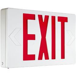 Indoor Thermoplastic LED Exit Sign Series: EETP